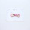 Daisy headband/ clip - neutral pink