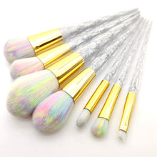 Unicorn Makeup Brushes.