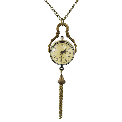 Retro Ladies Watch Necklace