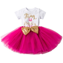 My 1st Birthday & My 2nd Birthday Tutu Dress