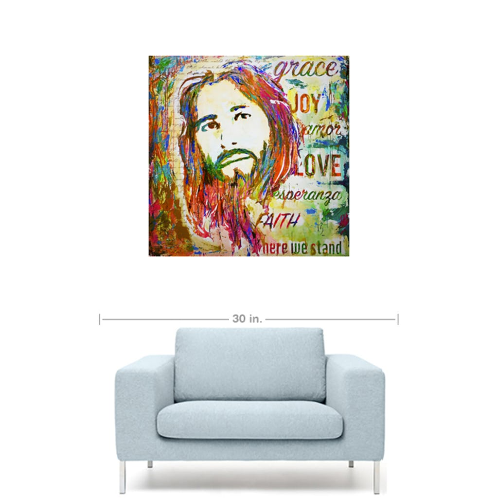 "Amazing Grace-Premium Canvas Gallery Prints-CG Pro Prints-20""x20""x1.25"" Premium Canvas Gallery Wrap-Ivan Guaderrama Wholesale"