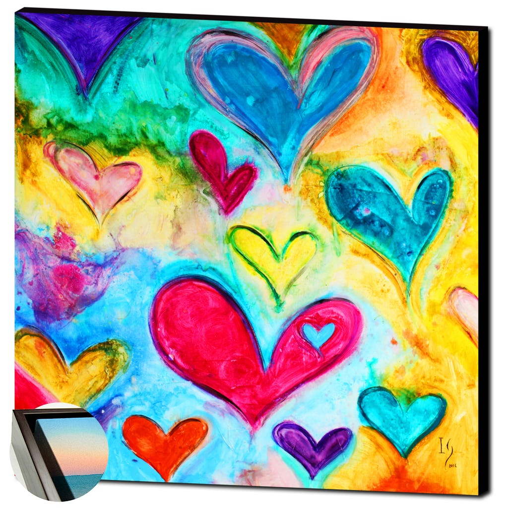 Love Sweet Love-Premium Canvas Gallery Prints-CG Pro Prints-Ivan Guaderrama Wholesale