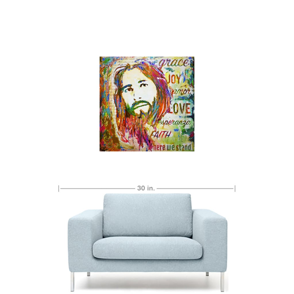 "Amazing Grace-Premium Canvas Gallery Prints-CG Pro Prints-16""x16""x1.25"" Premium Canvas Gallery Wrap-Ivan Guaderrama Wholesale"