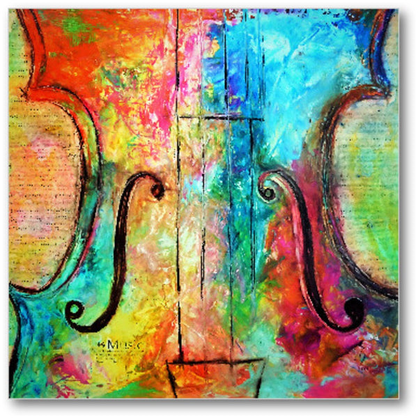 Music For The Heart-Premium Canvas Gallery Prints-CG Pro Prints-Ivan Guaderrama Wholesale