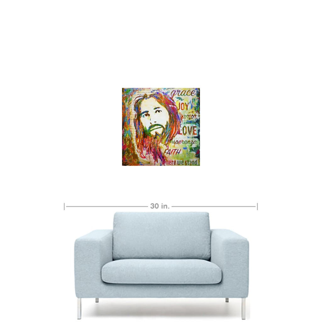 "Amazing Grace-Premium Canvas Gallery Prints-CG Pro Prints-12""x12""x1.25"" Premium Canvas Gallery Wrap-Ivan Guaderrama Wholesale"
