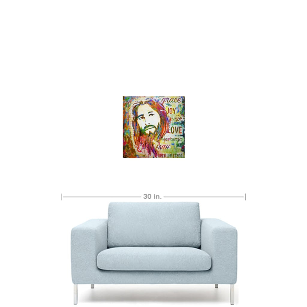 "Amazing Grace-Premium Canvas Gallery Prints-CG Pro Prints-10""x10""x1.25"" Premium Canvas Gallery Wrap-Ivan Guaderrama Wholesale"