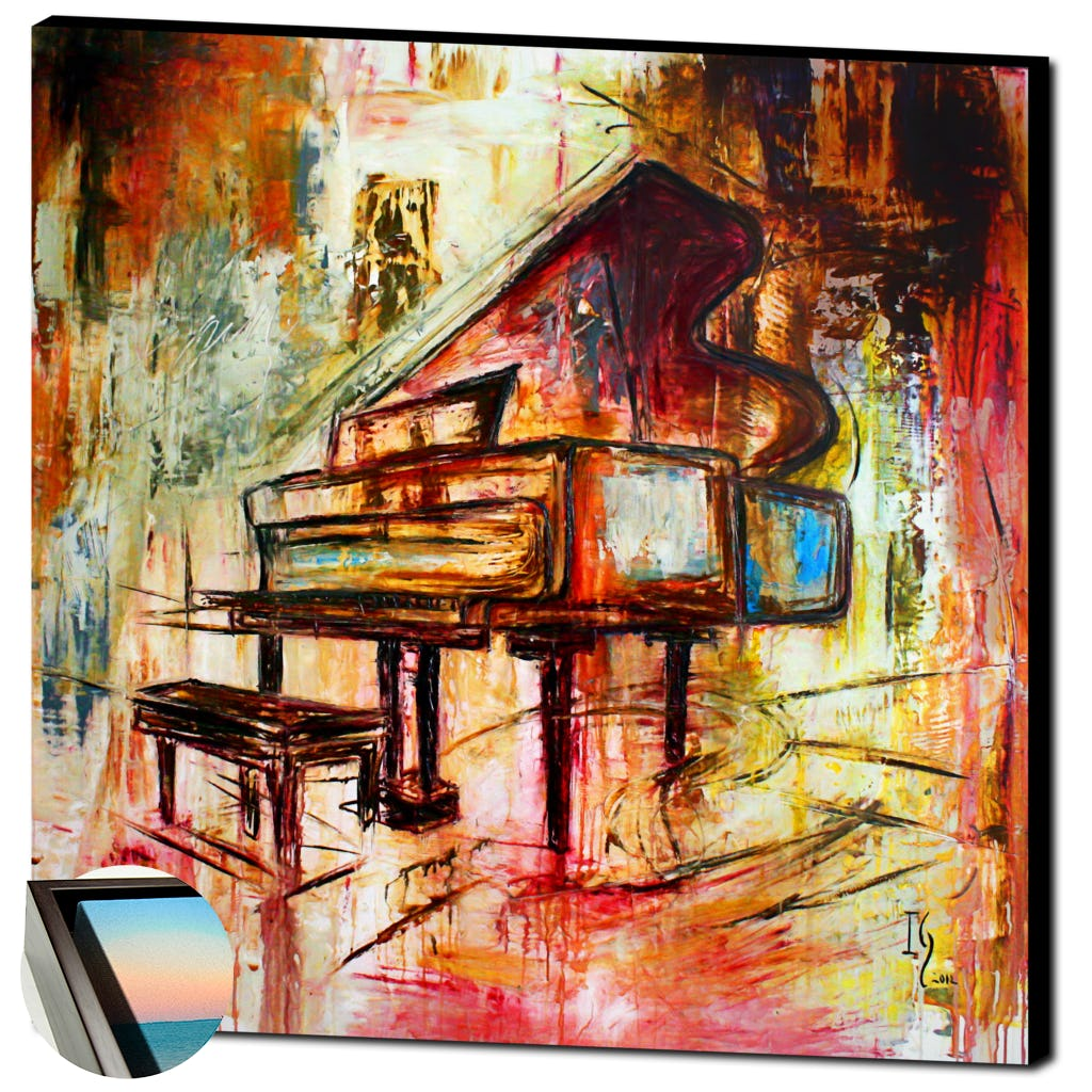 Flowing Notes-Premium Canvas Gallery Prints-CG Pro Prints-Ivan Guaderrama Wholesale