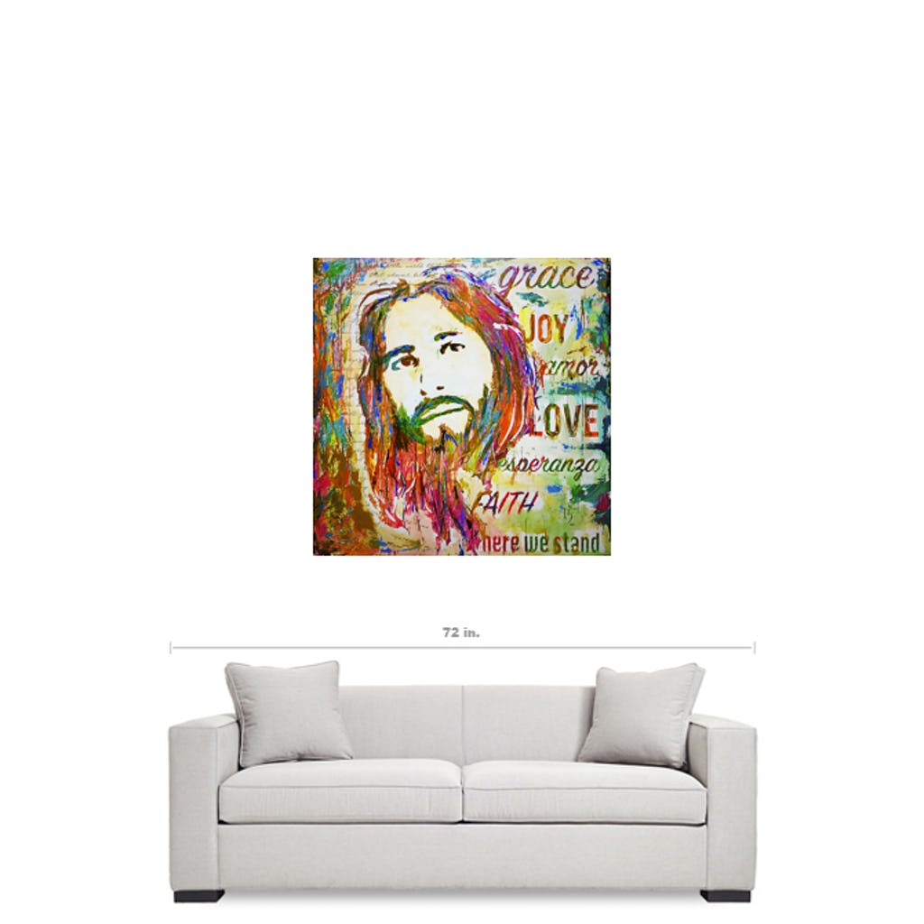 "Amazing Grace-Premium Canvas Gallery Prints-CG Pro Prints-36""x36""x1.25"" Premium Canvas Gallery Wrap-Ivan Guaderrama Wholesale"
