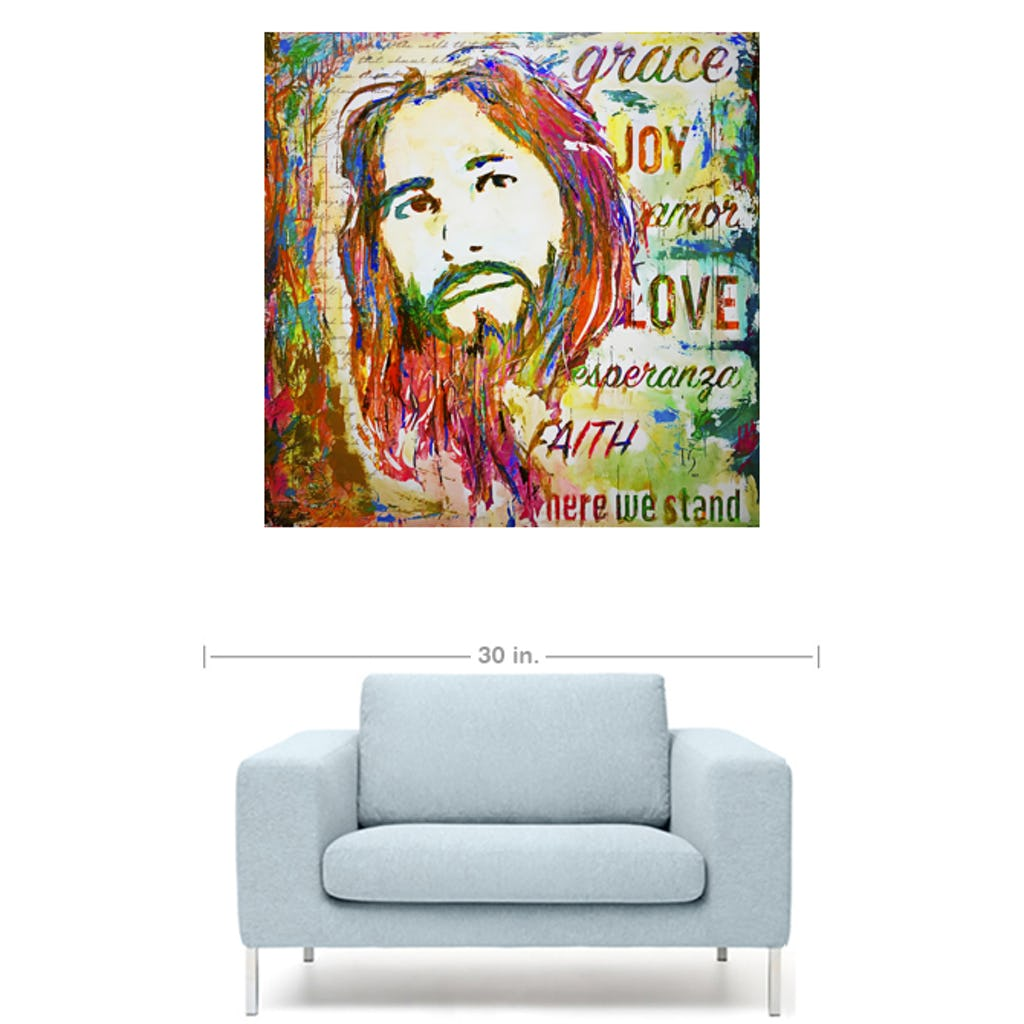 "Amazing Grace-Premium Canvas Gallery Prints-CG Pro Prints-24""x24""x1.25"" Premium Canvas Gallery Wrap-Ivan Guaderrama Wholesale"