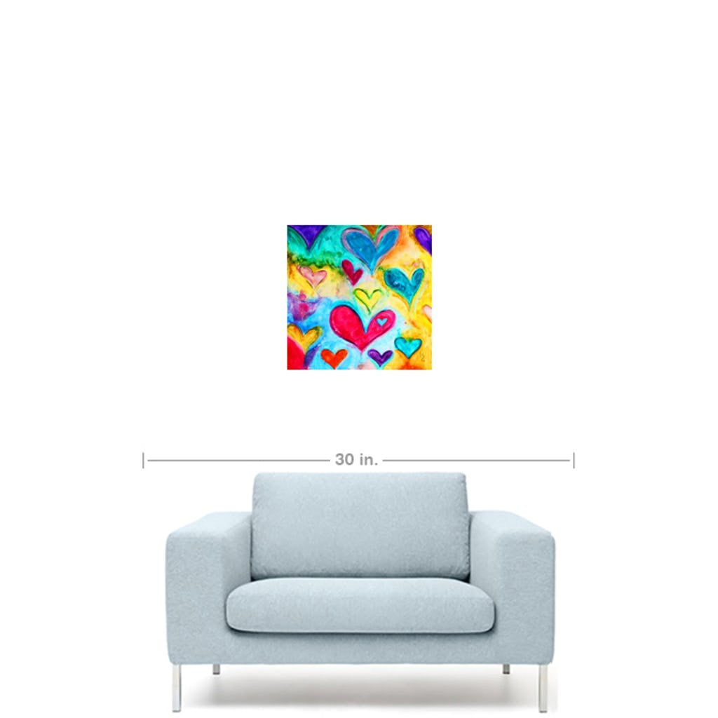 "Love Sweet Love-Premium Canvas Gallery Prints-CG Pro Prints-10""x10""x1.25"" Premium Canvas Gallery Wrap-Ivan Guaderrama Wholesale"