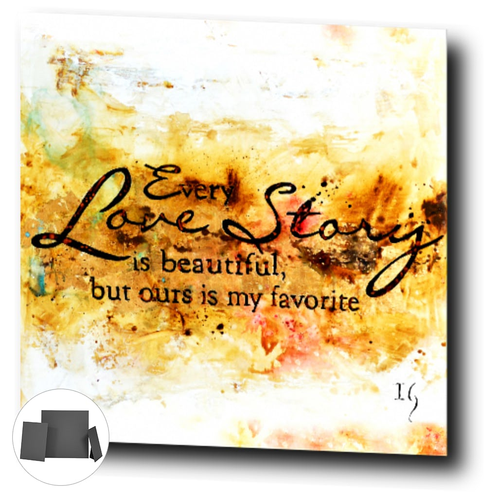 Every Love Story I-Premium Canvas Gallery Prints-CG Pro Prints-Ivan Guaderrama Wholesale