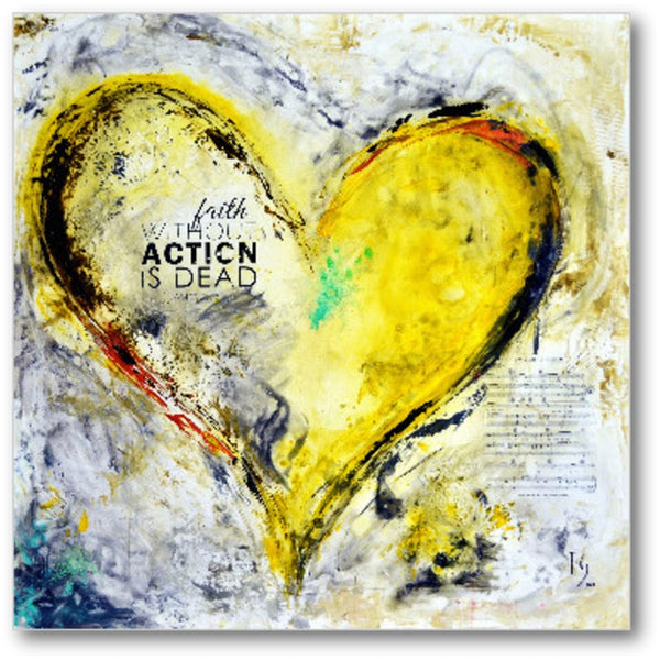 heart painting images