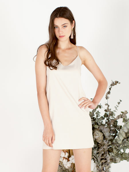 Luxurious Satin Slip Dress