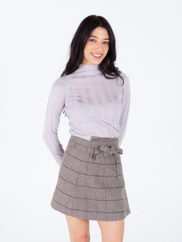 Feeling Present Wrap Skirt