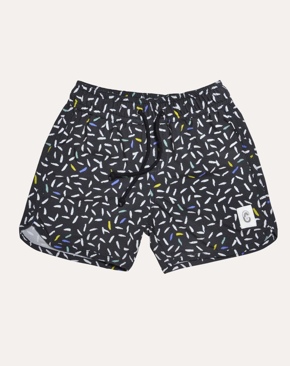 Snow Night Quick Dry Beach Shorts