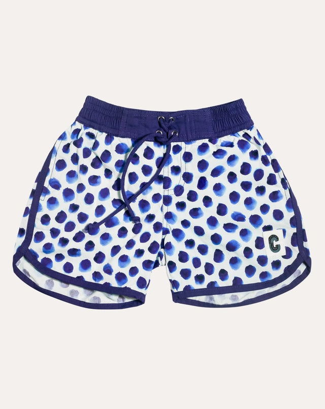 'Bonbon' Organic Cotton Beach Shorts for Backyard to Beach