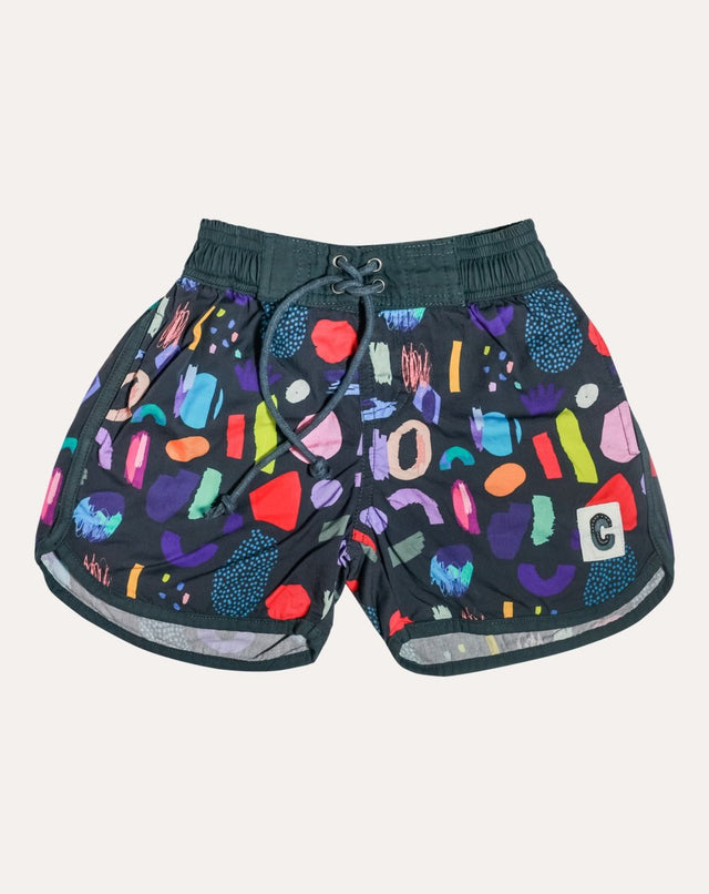 Jungle Mix Organic Cotton Beach Shorts