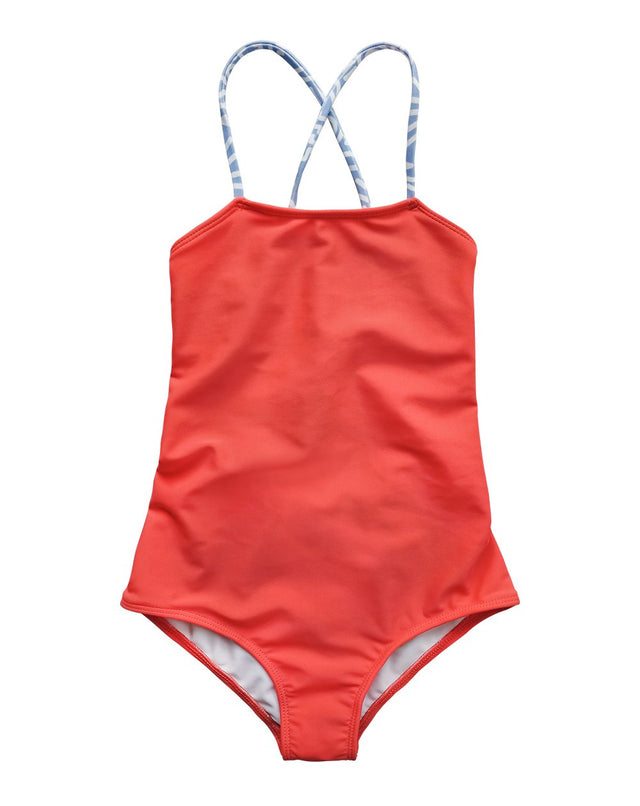 Red Coral Action Swimsuits