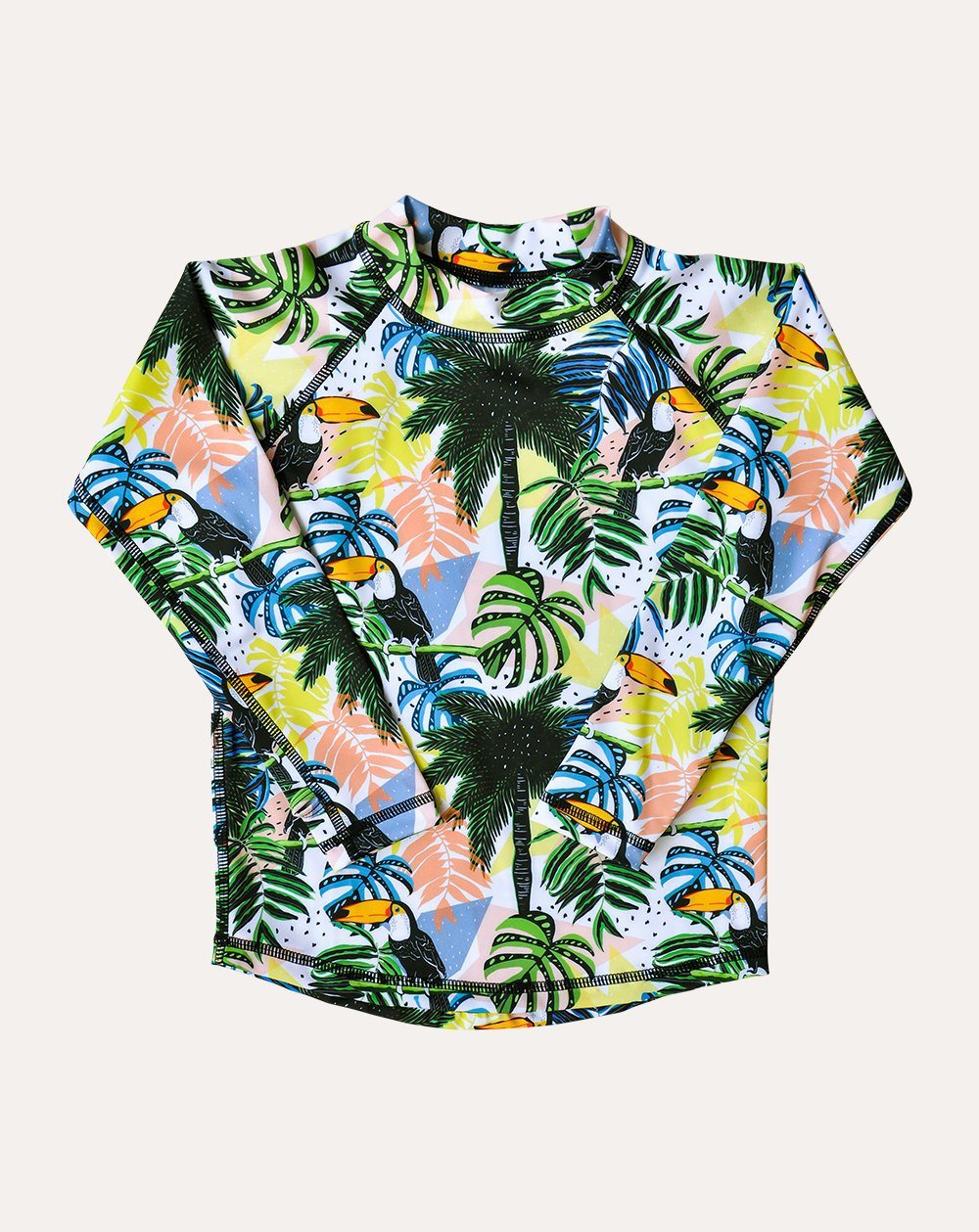 Toucan-Can Sea & Snow Rash Top