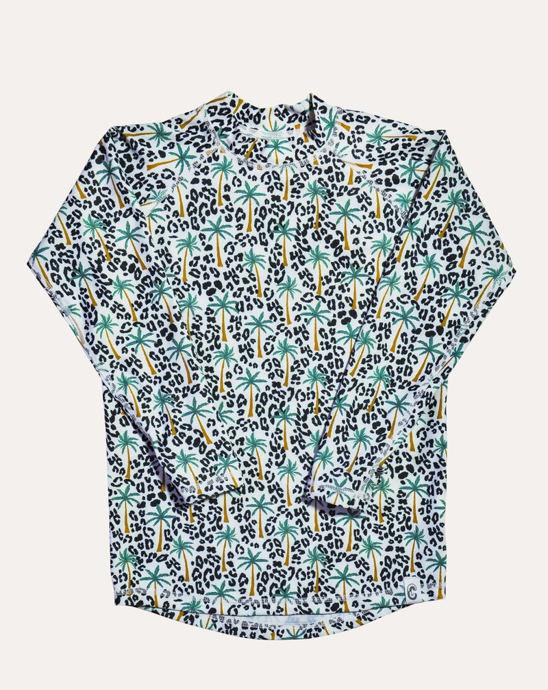 Tropical Fiesta Sea & Snow Rash Top