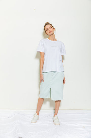 Bande Studio - Midi Skirt - Pale Glacier Green