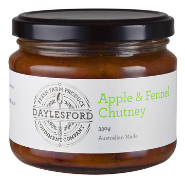 Daylesford Condiment Company - Apple & Fennel Chutney 330g