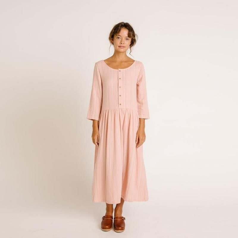 Wares by Olli Ella - ZINNIA DRESS - Rose Stripe