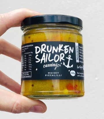 Drunken Sailor - Whisky Piccalilli