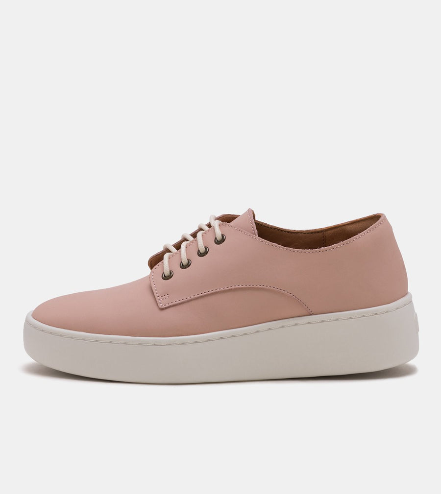 Rollie - Derby City Snow Pink Leather