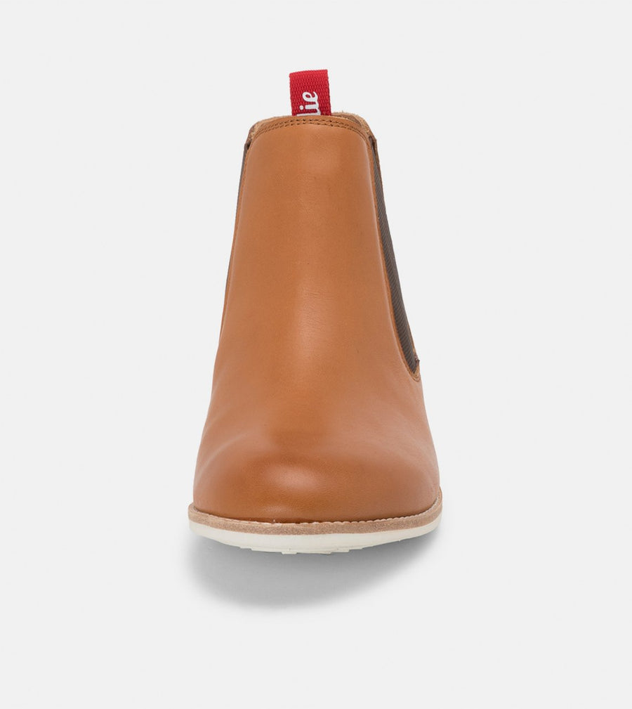 Rollie - Chelsea Boot - Cognac Burnish/Honeydew Sole