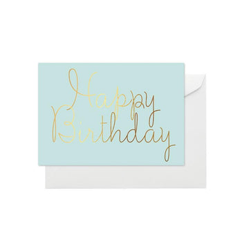 Elm Paper - Happy Birthday Aqua