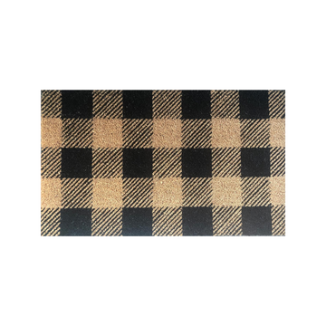 Potted - Doormat - Plaid