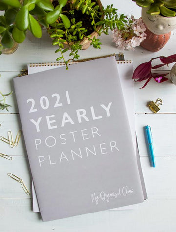 Write to Me - 2021 Yearly Wall Planner