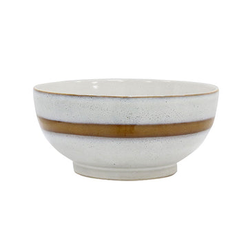 HK Living - 70's Ceramic Salad Bowl (Large) - Snow