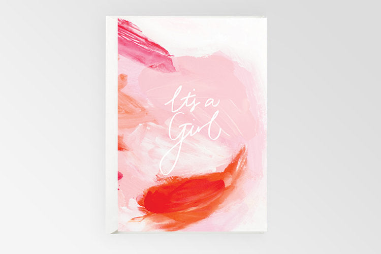Rachel Kennedy Designs - Card - It's a Girl