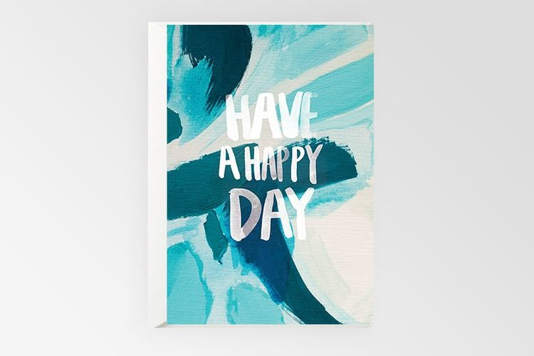 Rachel Kennedy Designs - Card - Have a Happy Day