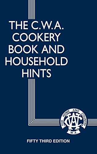 Brumby Sunstate - C.W.A Cookery Book Household Hint