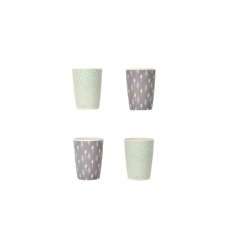 Love Mae - Bamboo Tumblers 4Pack - Forest Mix