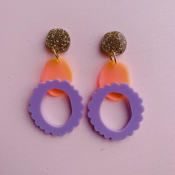 Emeldo - Rita Earrings - Carnivale