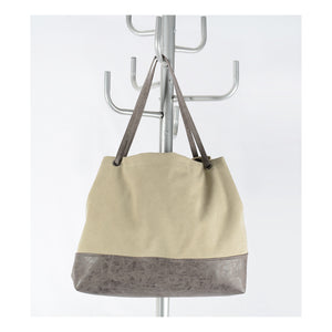 Habitat 101 - Kyra Canvas Shoulder Bag - Grey