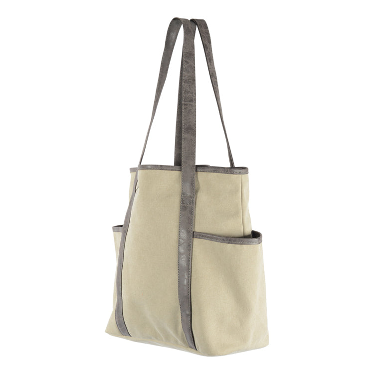 Habitat 101 - Talia Canvas Tote Bag Grey