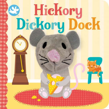 Brumby Sunstate - Little Me Finger Puppet Book - Hickory Dickory Dock