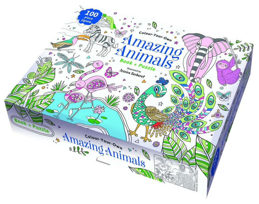 Brumby Sunstate - Colour Your Own Amazing Animals