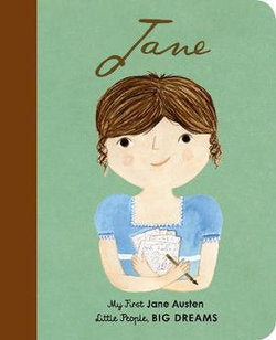 Little People, Big Dreams - Jane Austen - Board Book