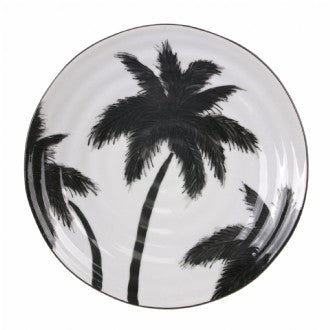 HK Living - Jungle Porcelain Serving Plate Palms