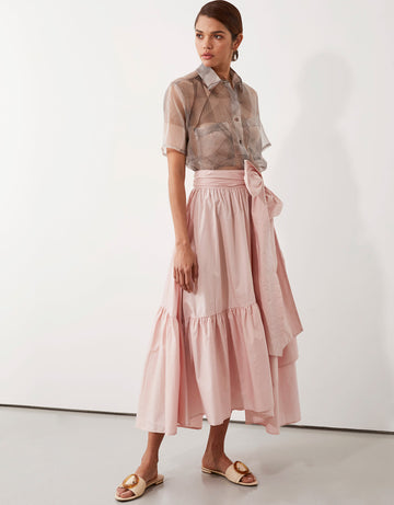 Apartment Clothing - Parker Wrap Skirt - Pink