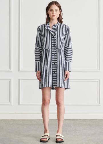 Apartment Clothing - Candy Mini Shirt Dress - Candy Stripe