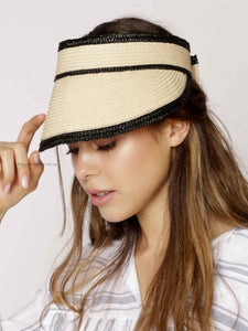 Angels Whisper - Magdalena Straw Visor Hat