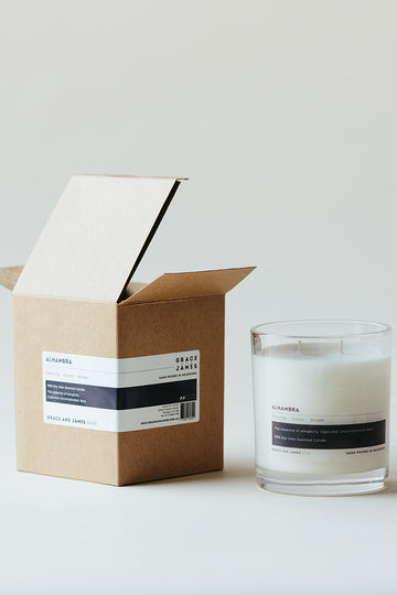 Grace & James - Bare Alhambra Candle - XL (400ml)