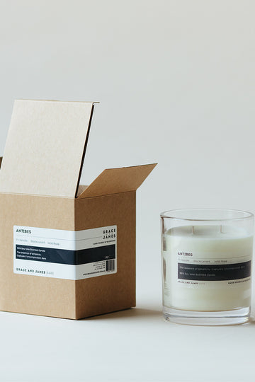 Grace & James - Bare Antibes Candle - XL (400ml)
